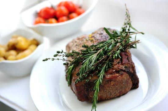 Seehotel Töpferhaus: Fresh steak