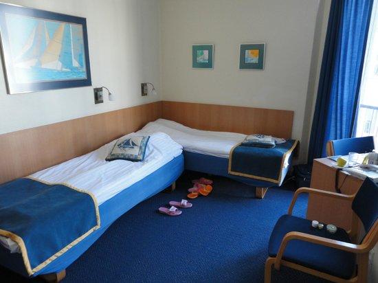 Hotel Maritime: Номер с двумя кроватями
