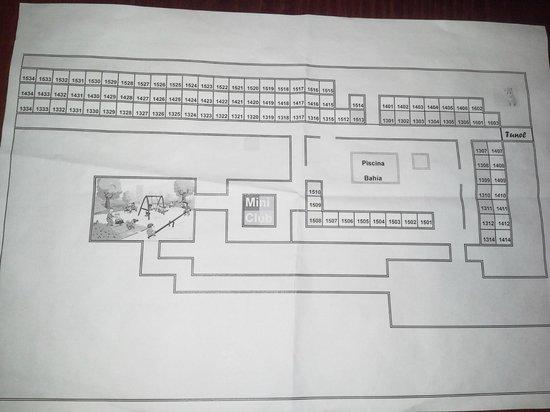 Hotel Floresta: Hotel plan. part2