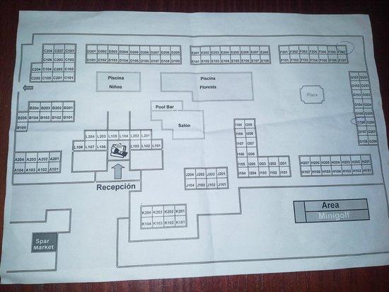 Hotel Floresta: hotel plan part1