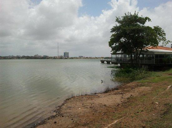 Vista parcial da Lagoa da Jansen