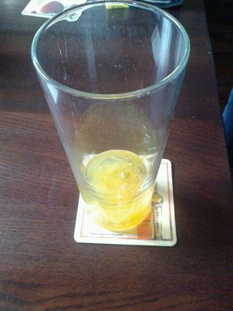 The Pheasant: Pint of squash £2. Great value.
