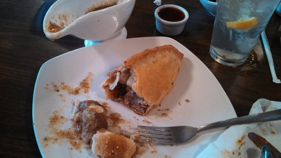 Pig 'n Whistle: Cornish pasty (like a pot pie without the bowl, gravy served on the side)