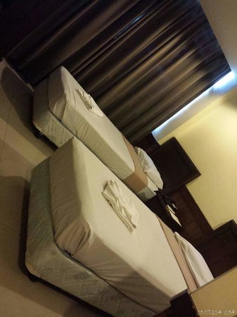 Alu Hotel : Our twin deluxe room