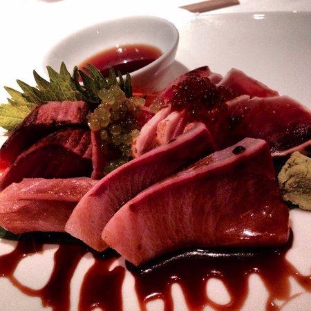 Araxi Restaurant + Oyster Bar: Tuna tuna and tuna