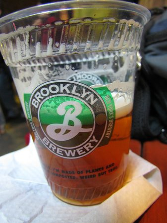Brooklyn Brewery: chopp