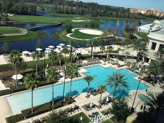 Waldorf Astoria Orlando: View from our room