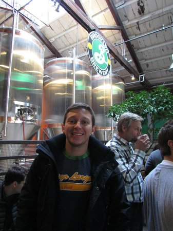 Brooklyn Brewery: Mau no tour