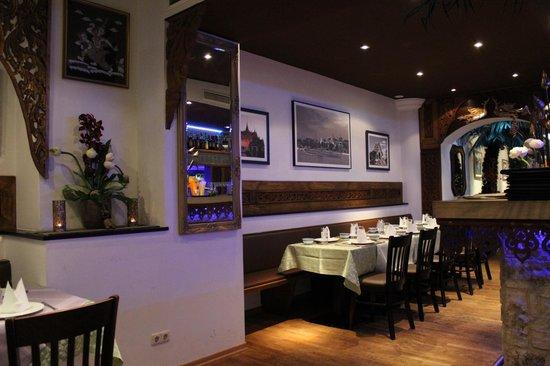 Chao-Khun : Eine Innenansicht im Thai Restaurant Chao Khun