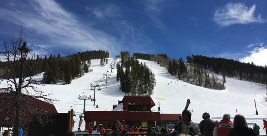Beaver Creek Ski Area: View from the bottom