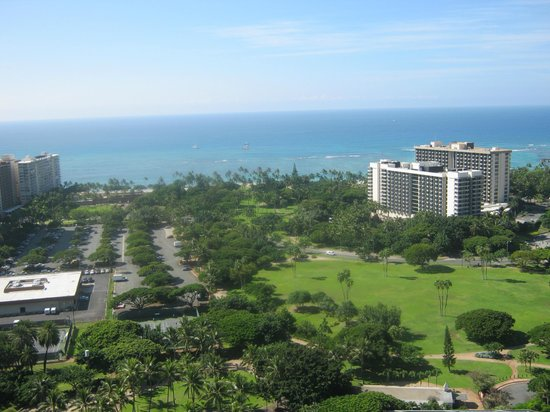 Maile Sky Court: View from the Room - Ocean View