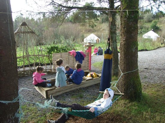 Ireland Glamping - Pink Apple Orchard: Children's Play Area