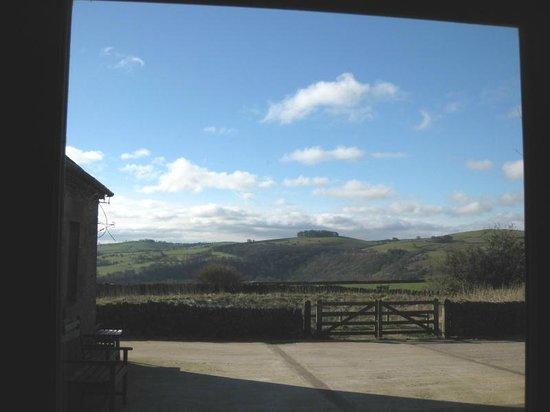 Beechenhill Farm: View from sitting room