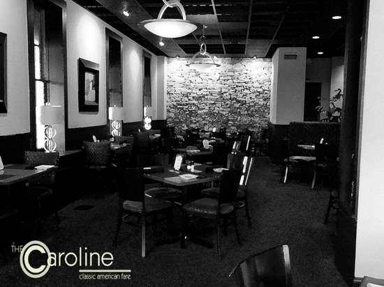 The Caroline : Interior of Restaurant