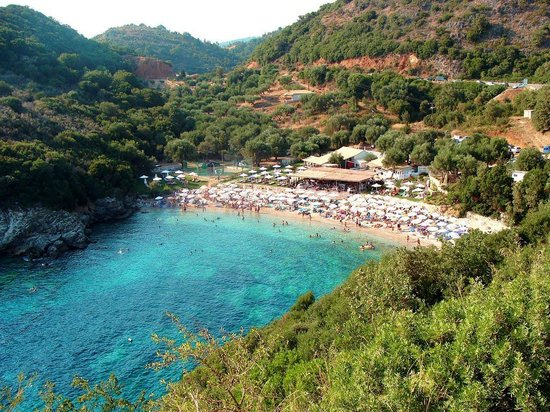 Syvota, Greece: Mikri Ammos beach - Thesprotia