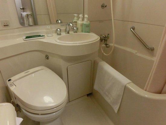 Hotel Route Inn Shinagawa Oimachi: 浴室