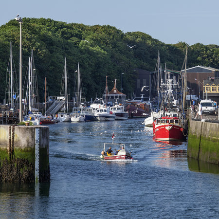 Eyemouth Harbour, inner harbour basin