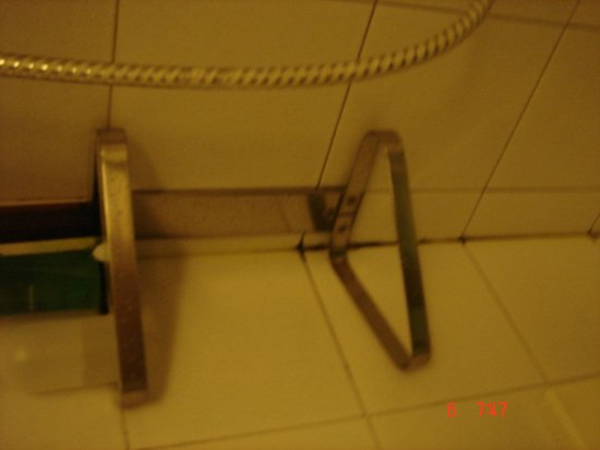 Florida Hotel : Dirty bathroom