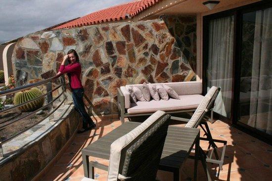 H10 Playa Meloneras Palace : el balcón
