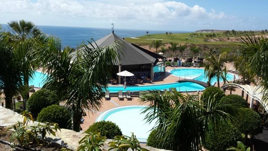 H10 Playa Meloneras Palace: vistas desde la habitación