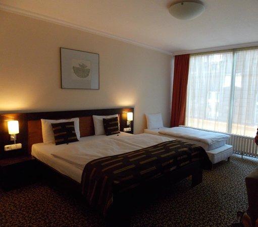 BEST WESTERN PLUS Hotel Ambra: Stanza 202, Hotel Ambra. Budapest