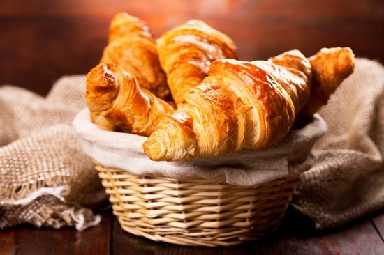 Carriages Boutique Hotel & Vineyard: Nothing beats fresh croissants delivered to you in the morning