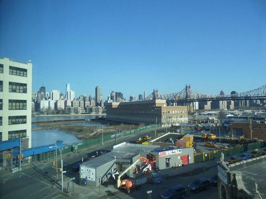 Wyndham Garden Long Island City Manhattan View: Day scene from 5th floor