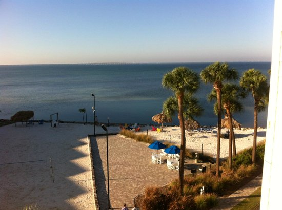 Sailport Waterfront Suites: View from our Balcony - Room 419