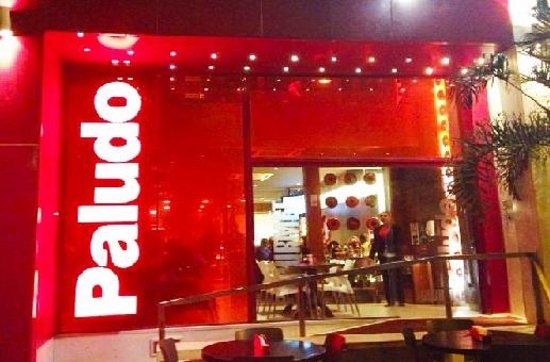 Familia Paludo Restaurante : Frente do restaurante