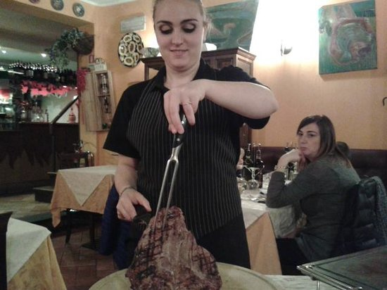 Mangiafuoco Bracerie: Steak Florentine