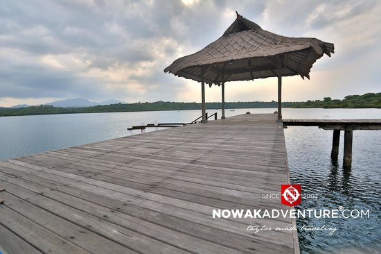 Naya Gawana Resort & Spa: The pier