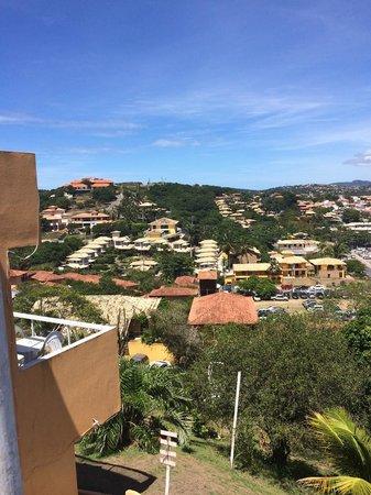 Almar Buzios Pousada: vista terraza
