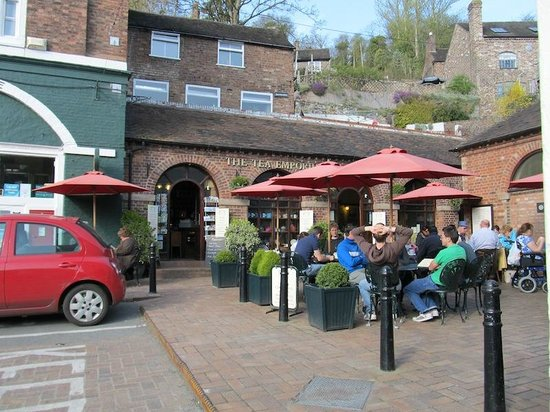 The Tea Emporium: Tea Emporium, Ironbridge, Shropshire
