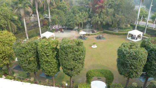 The Claridges New Delhi: The Garden from the room balcony