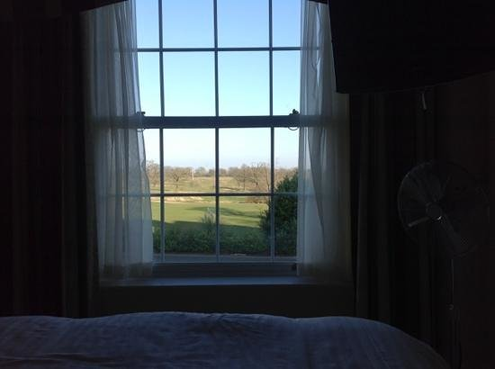 Whittlebury Hall: view from club room158