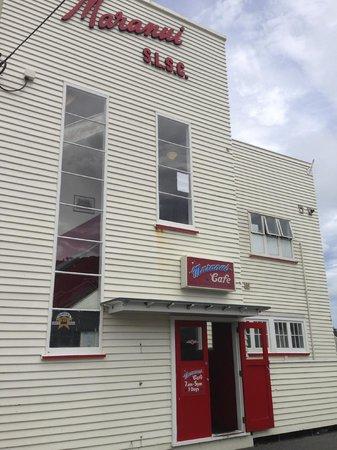 Maranui Surf Lifesaving Cafe: Exterior