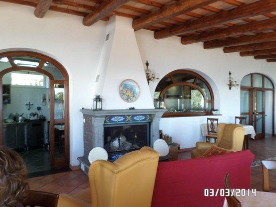 Hotel Pellegrino: Dining room
