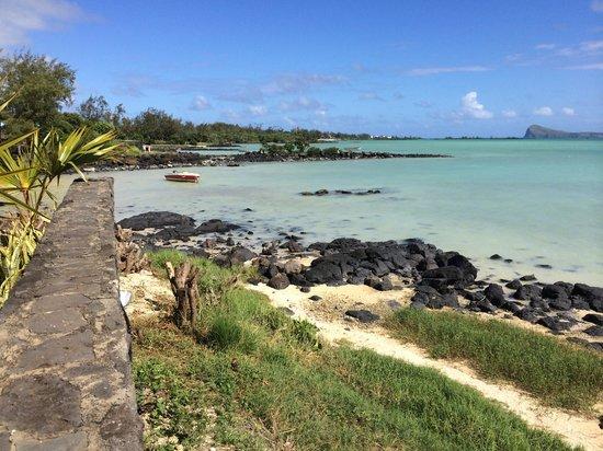 Calodyne Hotel: vue mer