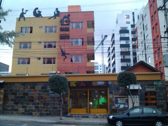 Hotel Casa Kolping Quito : Fachada del hostal