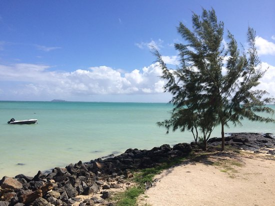 Calodyne Hotel: vue plage