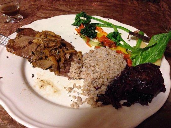 Restauracja Toga : Lamb, main course