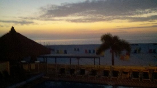 Plaza Beach Hotel - Beachfront Resort : Sunset St. Pete Beach. Beautiful.
