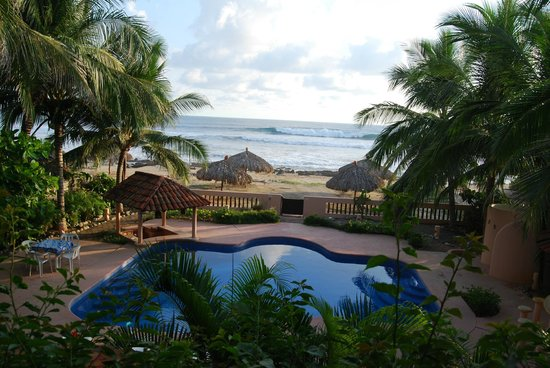 Casa de La Sirena: Here's the view from the 2nd story Mini Villa
