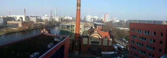 Ibis Berlin Ostbahnhof : Aussicht von meinem Zimmer (Ostberlin)