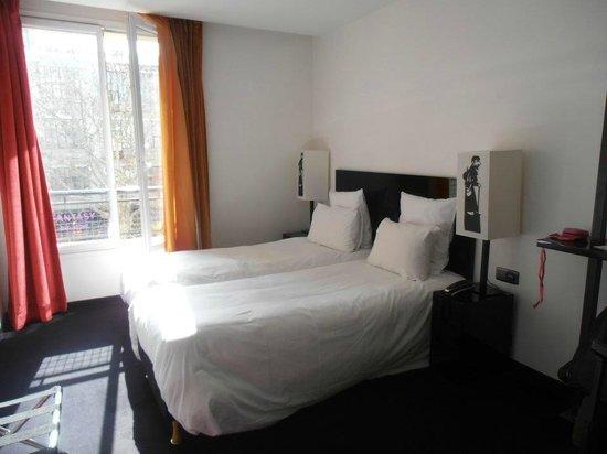 Hotel le Chat Noir: cameretta