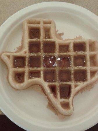 Quality Inn at Arlington Highlands: A Texas Waffle
