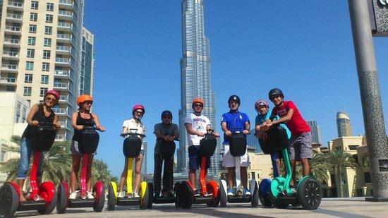 Segway Glides Dubai