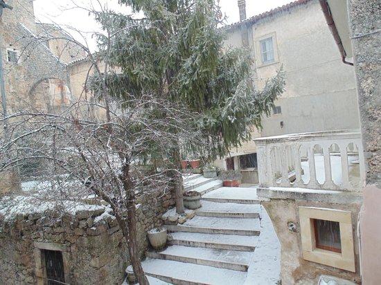 Residenza La Torre: il panorama dalla camera da letto