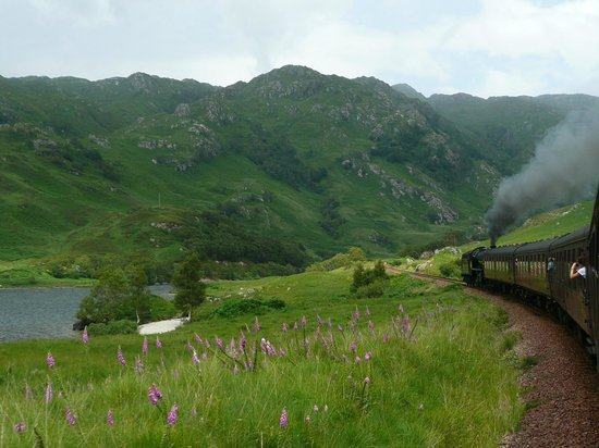 Jacobite Steam Train: En-route to Mallaig