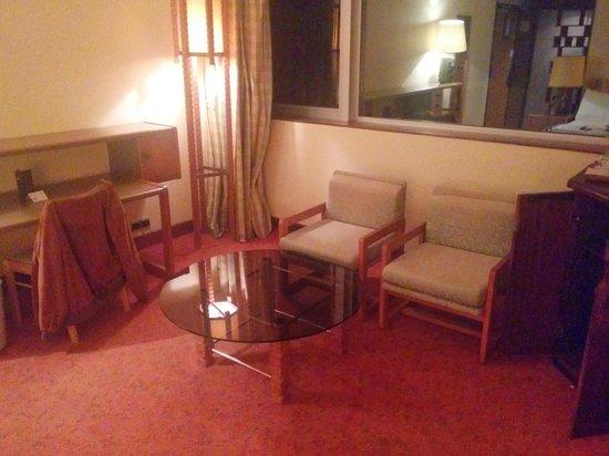 Le Meridien Re-Ndama : Chambre mobilier